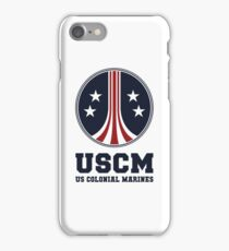 United States Colonial Marines - USCM iPhone Case/Skin