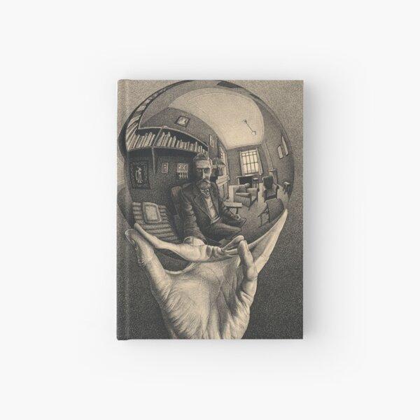 ESCHER REFLECTED BALL Hardcover Journal