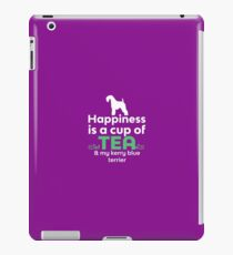 Happiness Is Tea & My Kerry Blue Terrier  iPad Case/Skin