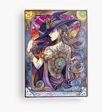 Youtube Artist collective. The Zodiac Witch Metal Print