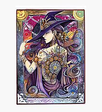 Youtube Artist collective. The Zodiac Witch Photographic Print