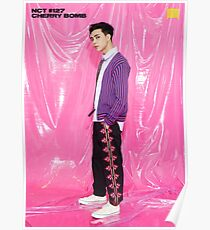 NCT 127 CHERRY BOMB JOHNNY Poster