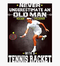 Lámina fotográfica Roger Federer Tshirt