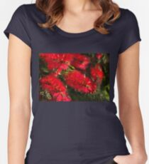 Bottle Brush Abstract 2 Women's Fitted Scoop T-Shirt