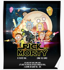 Rick and Morty Star Wars Poster