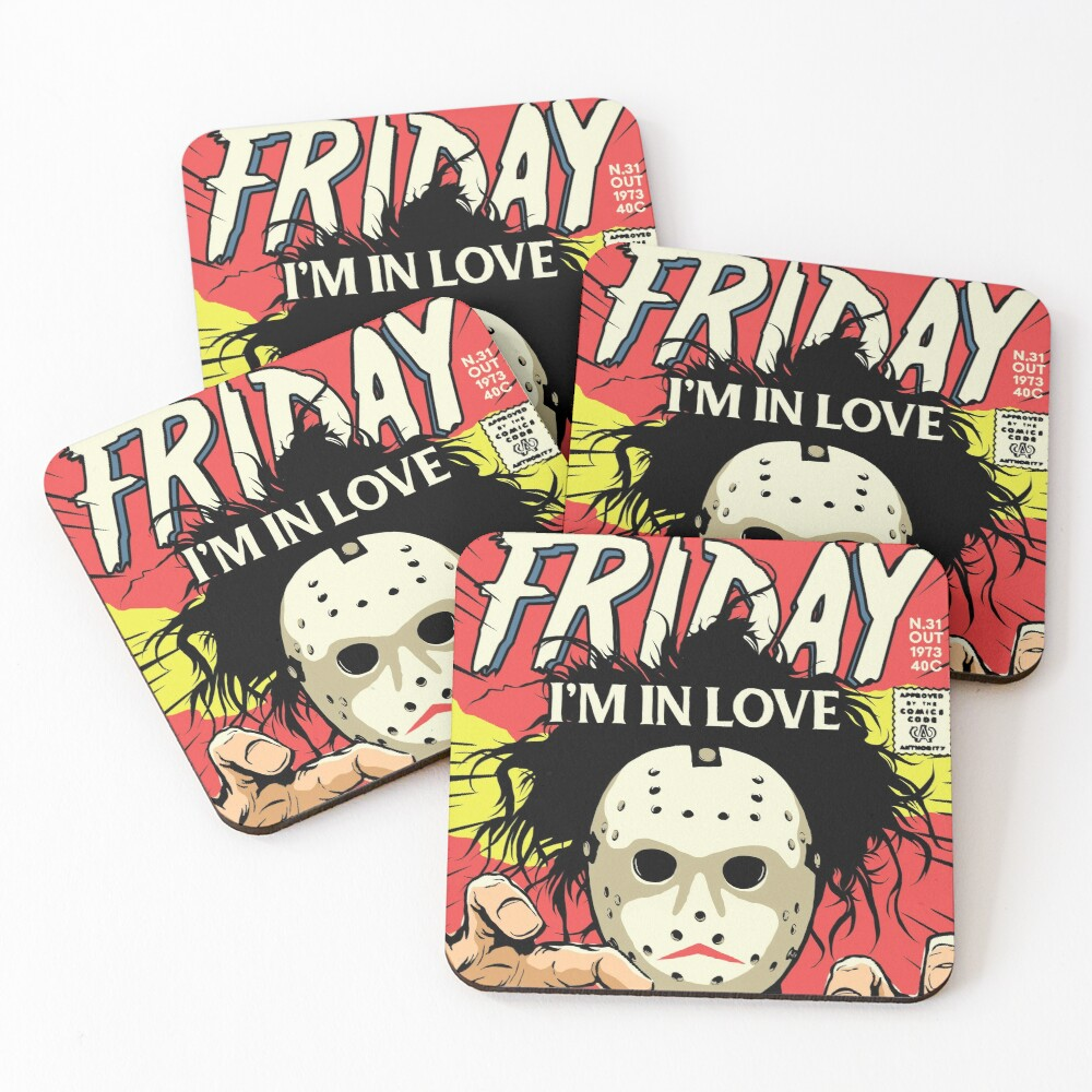TFTS | Friday Coasters (Set of 4)