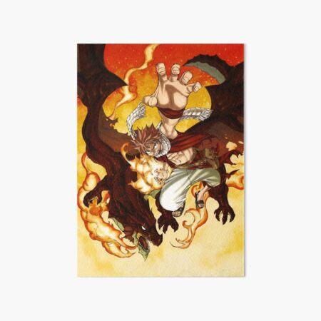 Natsu dragneel Art Board Print
