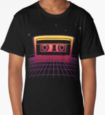 Sunset Cassette II Long T-Shirt
