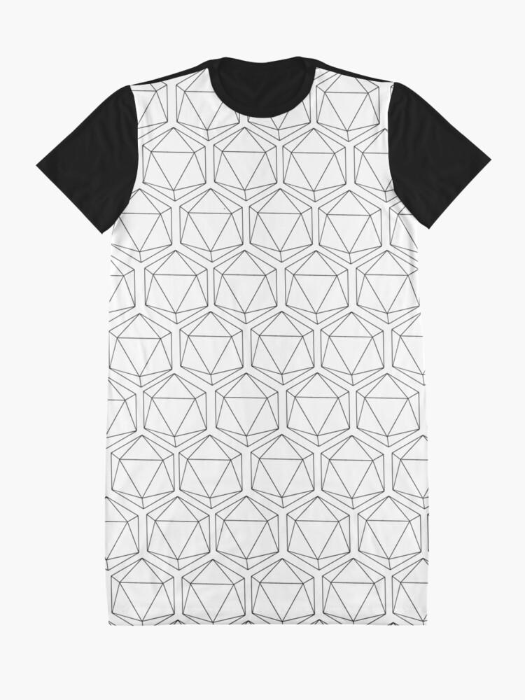 Alternate view of d20 Graphic T-Shirt Dress