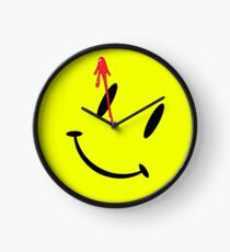 Watchmen Button Clock