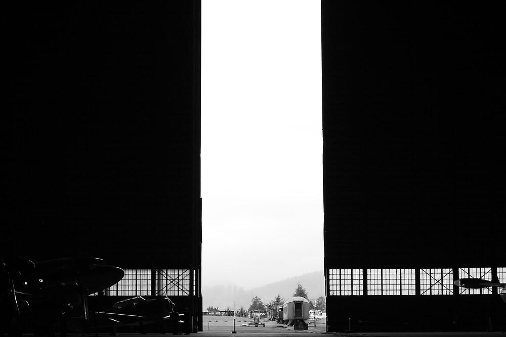 Hangar B by Larry  Stewart