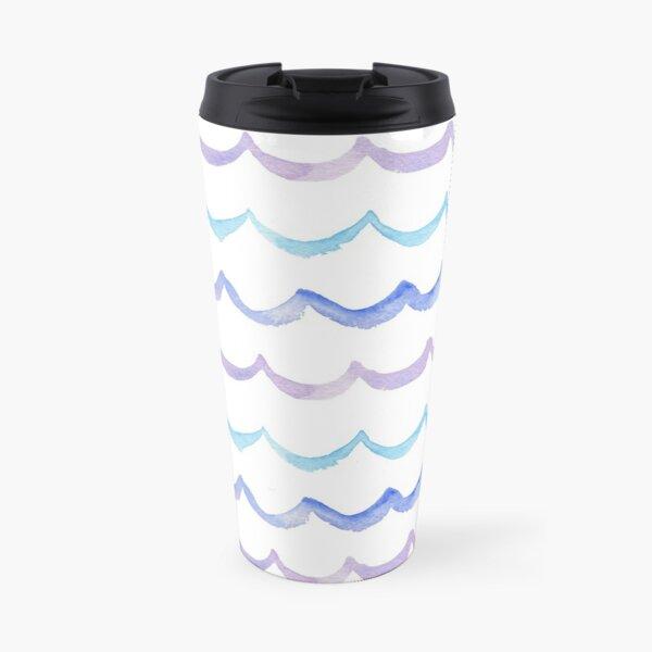 Life is Swell - Wave Pattern Travel Mug