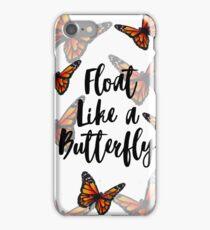 Butterflies -Float like a butterfly, hand drawn.  iPhone Case/Skin