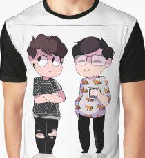 MEME FRIENDS Graphic T-Shirt