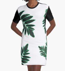 Pihlaja pattern Graphic T-Shirt Dress