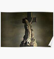 Gothic Cross Poster