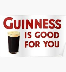 Guiness is good for you (and me) HQ Poster