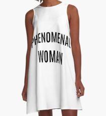 Phenominal Woman A-Line Dress