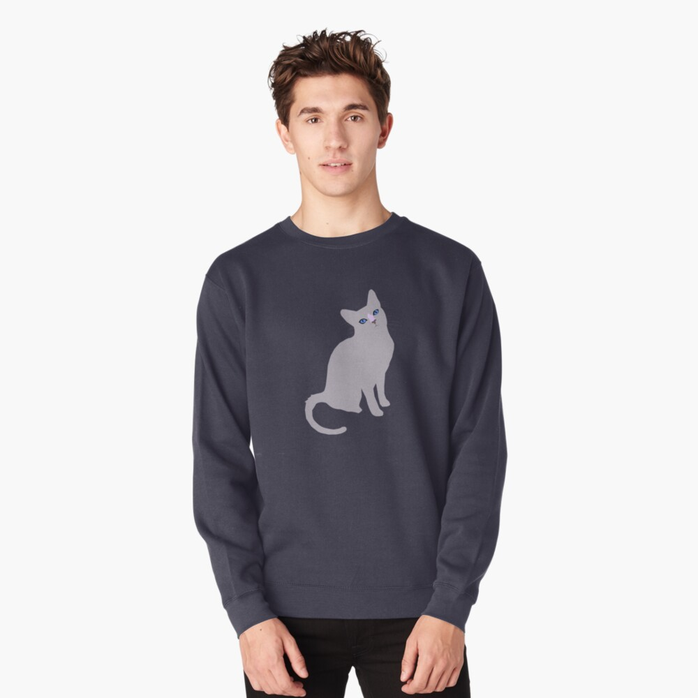 Forest cat Pullover Sweatshirt