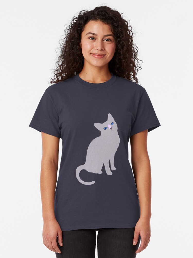 Alternate view of Forest cat Classic T-Shirt