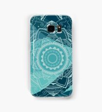 singing white mandala Samsung Galaxy Case/Skin