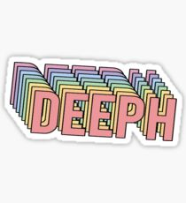 Retro Deeph Sticker