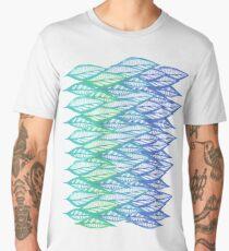 branch bright color blue Men's Premium T-Shirt