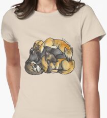 Sleeping pile of Belgian Shepherd dogs T-Shirt
