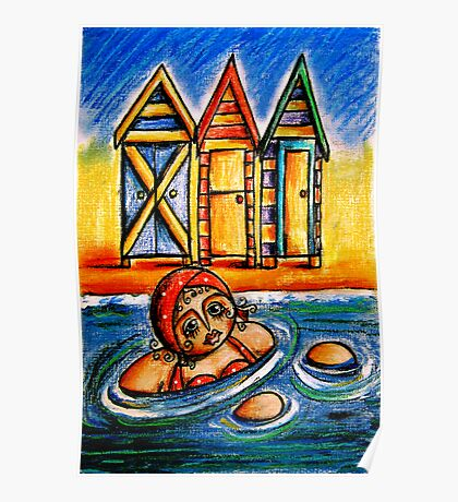 Bathing Boxes Poster