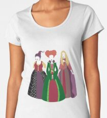 Halloween Witches Premium Scoop T-Shirt