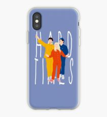 hard times iPhone Case
