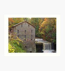 Lanterman's Mill Art Print