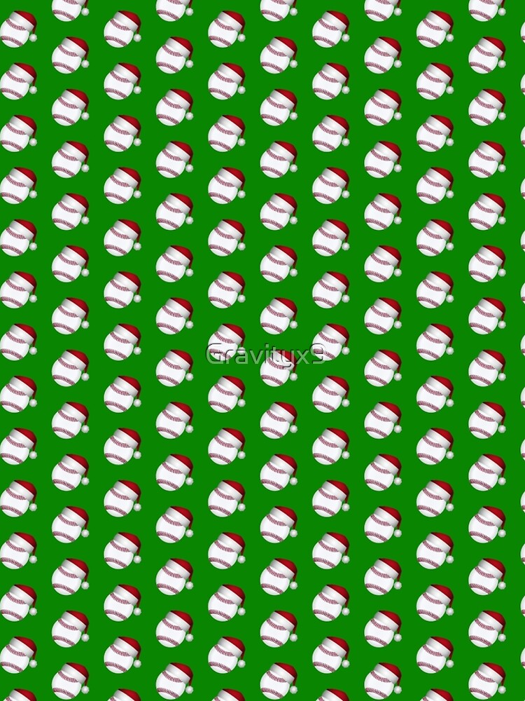 Christmas Baseball by Gravityx9