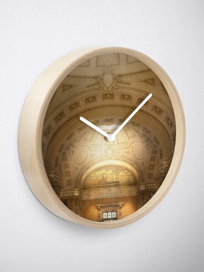 Alternate view of City - Annapolis MD - Bancroft Hall Clock