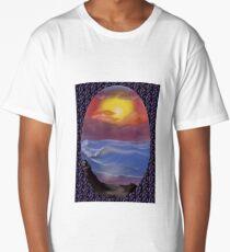 A Pastel Seascape  Long T-Shirt