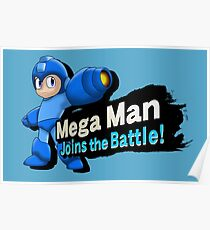 Mega Man - Joins the Battle! Poster
