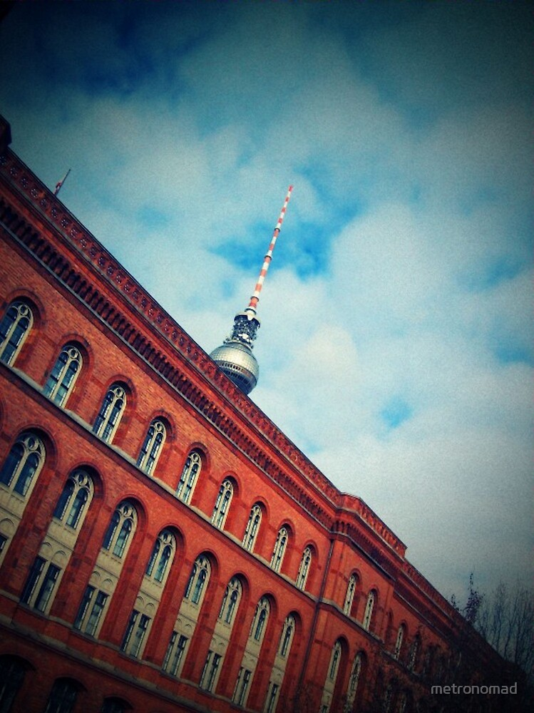 Berliner Rathaus by metronomad