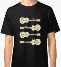 Birds On Guitar Strings Classic T-Shirt