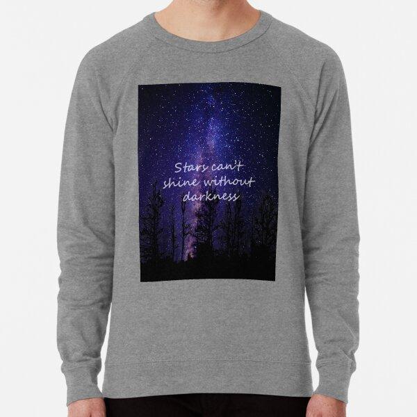tee Stars can/_t Shine Without Darkness Night Skyline Women Sweatshirt