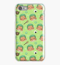 Zoro pattern iPhone Case/Skin