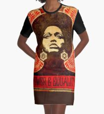 Angela Davis poster 1971 Graphic T-Shirt Dress