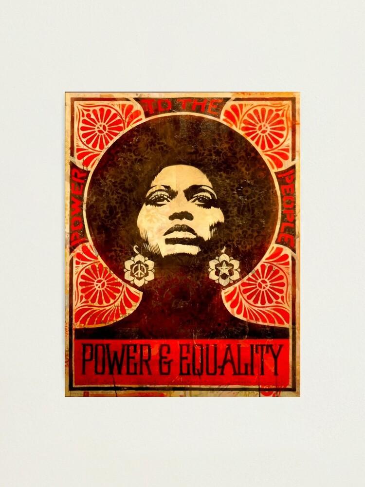 Alternate view of Angela Davis poster 1971 Photographic Print