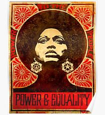 Angela Davis Plakat 1971 Poster
