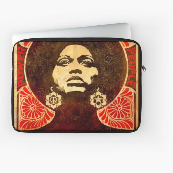 Angela Davis poster 1971 Laptop Sleeve