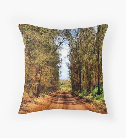 Red Pines - Lanai Throw Pillow