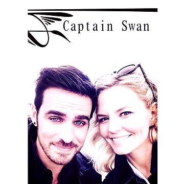 Captain Swan Selfie by MottSaroo