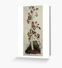 maple collage Greeting Card