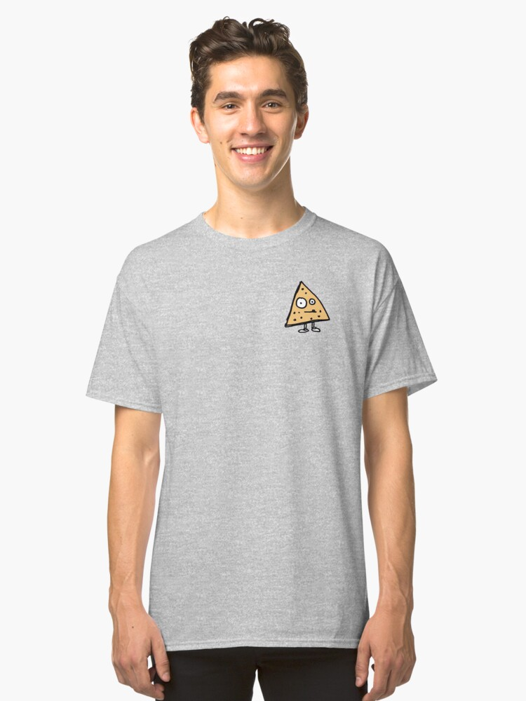 Tortilla Chip Pocket T shirt Classic T-Shirt Front