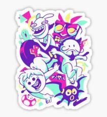 Oney Plays With Friends Sticker