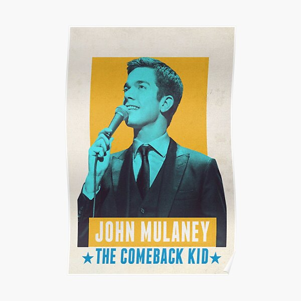 John Mulaney Poster